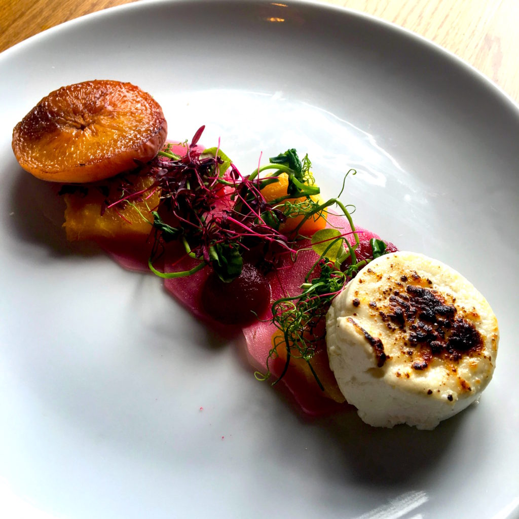 Local Beetroot & Seared Goats Cheese